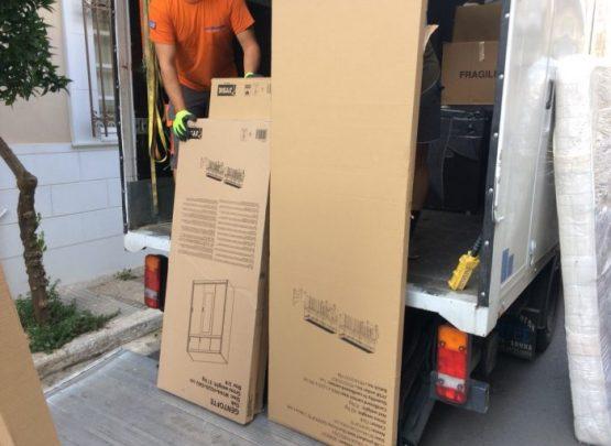 Μεταφορα με κουτες